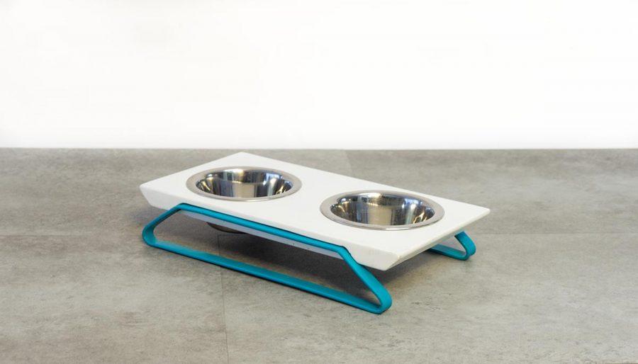Μπολ φαγητού σκύλου-γάτας με βάση 4legs